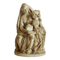 Antique Meerschaum figurine, 19th century