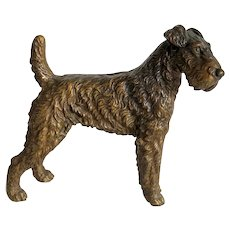 Vienna Bronze figure of a Terrier, early 20 century