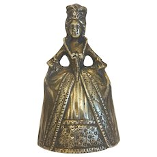 Victorian Gilt Bronze dinner bell, 19th century
