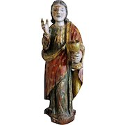 Antique lime wood sculpture,Italy ca.1500