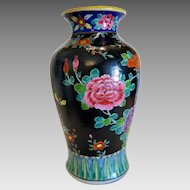 Vintage Japanese pottery vase, ca. 1930