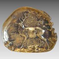 Vintage Bronze ashtray  signed Berndorf, ca.1920
