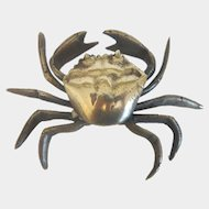 Vienna Bronze paperweight of a beautiful crab, early 20th century