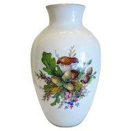 Rosenthal porcelain vase, hand painted, ca.1950
