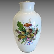 Rosenthal porcelain vase, hand painted, ca.1950
