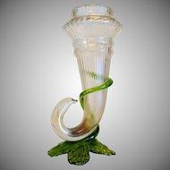 Art Nouveau iridescent glass vase, ca. 1900