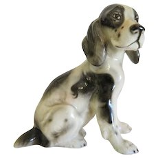Spaniel crafted by Keramos Austria, ca. 1930