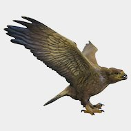 Vienna Bronze figure of an eagle, early 20th century