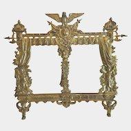 Antique Napoleon III Gilt Bronze frame, 19th century