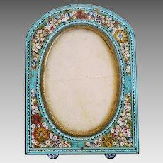 Antique Micro Mosaic frame, 19th century