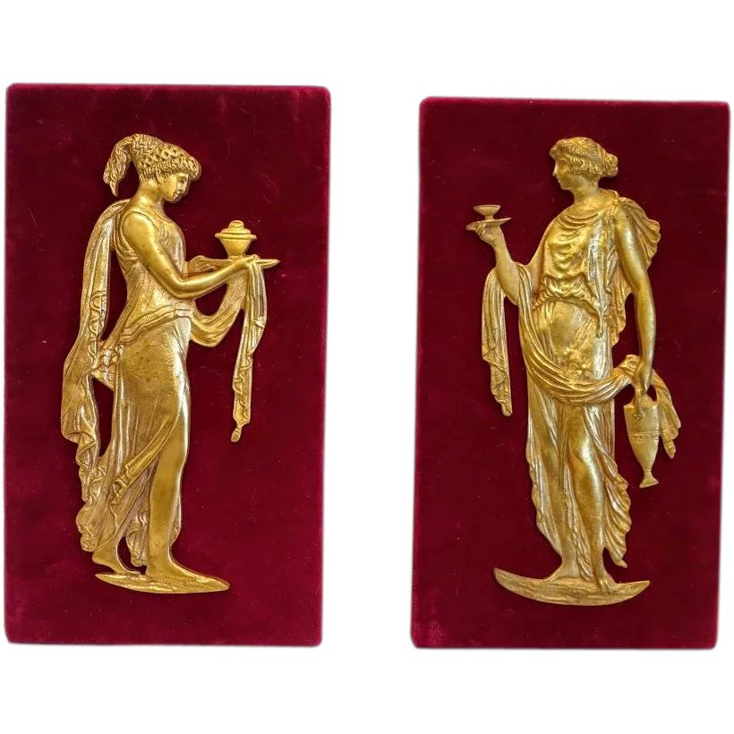 French Empire Gilt Bronze Furniture Mounts, Early 19th Century : Chateau  Antique | Ruby Lane