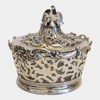 Victorian  Sterling  silver sugar bowl, London 1838