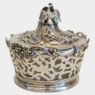 Victorian  Sterling  silver sugar bowl, London 1838