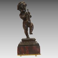 Antique French  Bronze sculpture signed Dumaige( 1830 -1888), 19th century