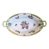 Herend porcelain basket Queen Victoria, ca. 1960