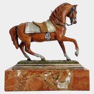 Vienna Bronze horse, signed Bergmann, ca. 1900