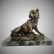 Antique French Bronze sculpture by Antoine-Louis Barye, early 19th century