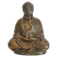 Gilt Bronze Buddha figure, early 20th century