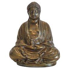 Gilt Bronze Buddha figure, early 20th century
