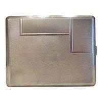 Antique cigarette case, silver 800, ca. 1900