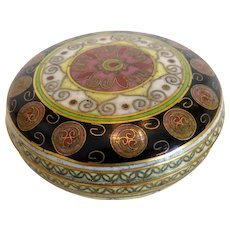 Antique Cloissone box, 19th century