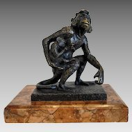 Bruno Zach Bronze sculpture, early 20th century