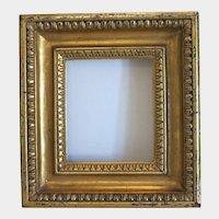 Antique gilt wood frame 19th century