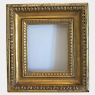 Antique gilt wood frame 19th century
