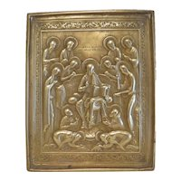 Antique Russian Icon, turn of the 19th century