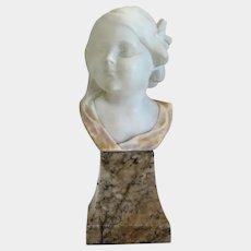 Alabaster Sculpture By Victor H. Seifert, 1949