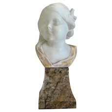 Alabaster Sculpture By Victor H. Seifert, 1949