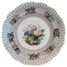 Antique W.S.&CO Wedgewood plate, 19th century