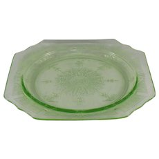 Anchor Hocking Princess Green Salad Plate