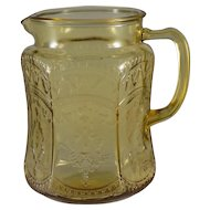 Federal Patrician 75 Ounce Pitcher in Amber