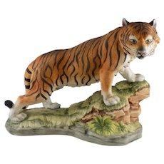 Lefton Tiger on Grassy Knoll #KW4950