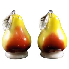 Miniature Pear Salt and Pepper Shakers – Made in Germany