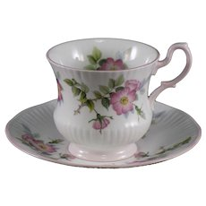 Rosina China Queen's Cup and Saucer