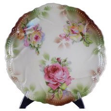 C A Lehmann and Sons Germany Decorated Plate