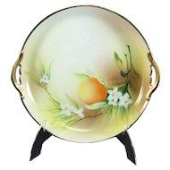 Nippon Handled Dish Fruit Motif