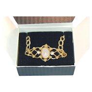 Avon Genuine Rose Quartz Bracelet in Original Box