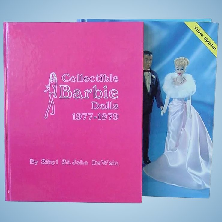 Two Vintage Barbie Collector Books by Sibyl DeWein ~ Barbie Dolls ...