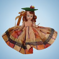 Nancy Ann Storybook Doll ~ #92 AUTUMN ~ Hard Plastic W/Tag and Box