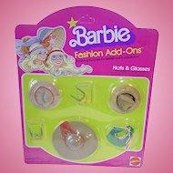 Mod Best Buy 1978 #2460 Barbie Doll Fashion Add Ons ~ Hats & Glasses NRFB
