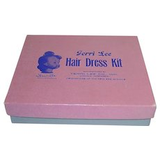 Vintage 1950s Terri Lee ~ Hair Dress Kit in Original Box ~ Rare!