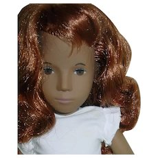 "Vintage 16"" Redhead Sasha Doll ~ #108 in White Dress"