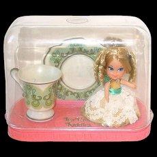 Vintage Liddle Kiddle ~ Lady Lace Tea Party Set ~  by Mattel