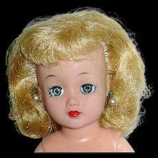 "Vintage 10.5"" Ideal LITTLE MISS REVLON ~ Light Blonde Hair"