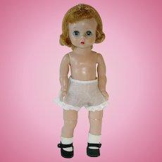 "Vintage 1956 Blonde Alexander ~ 8"" Alexander-Kin Doll BKW"