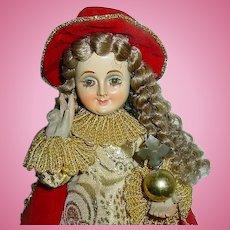 """Vintage 15"""" Creche Religious Doll Figure ~ Mint Condition"""
