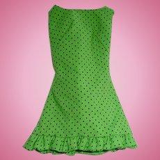 Mod 1969 Barbie Fashion ~ Rare SUN-SHINER Pak Dress in Studio Tour Fabric